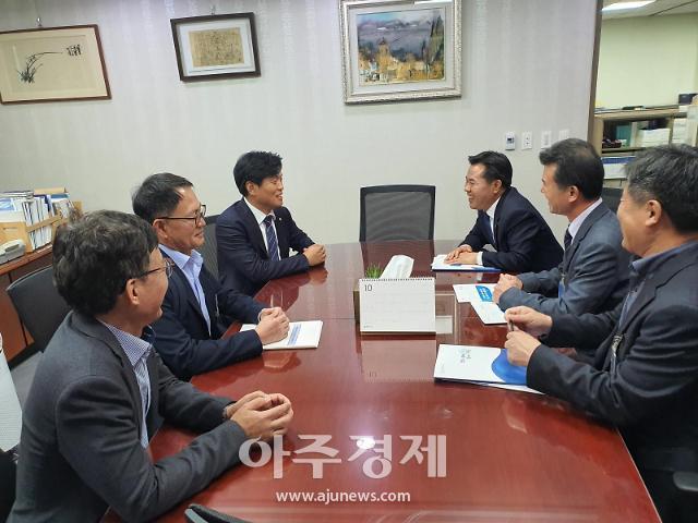 박정현 부여군수, 내년도 정부예산 확보'잰걸음'
