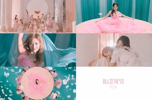 女团IZ*ONE下月推出首张正规专辑
