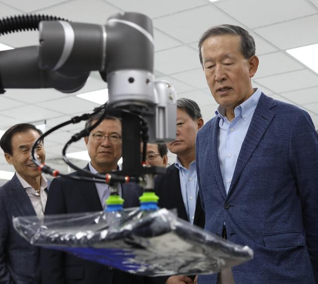 """대만 찾은 허창수 GS회장 """"대만 혁신 기업에 주목해야"""""""
