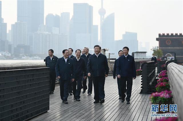 [중국포토]시진핑, 제2회 국제수입박람회 앞두고 상하이 시찰
