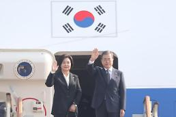 """.韩国总统文在寅出访泰国 为深化""""东盟+3""""合作打基础."""