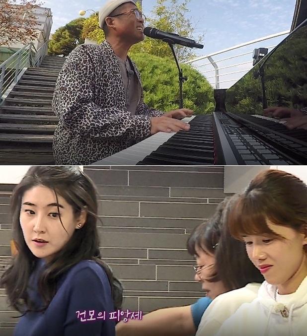 김건모♥장지연 피아노 프로포즈 모습은? #집사부일체