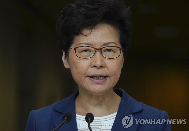 홍콩 행정수반 캐리람, 시위 사태 후 中최고지도부 첫 회동