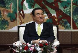 .文喜相访日出席G20议长会议 如何改善韩日关系受关注.