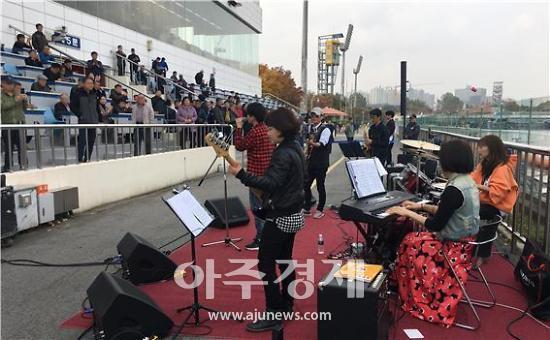 경륜경정, 경정 선수들로 구성 '더 나눔 밴드' 콘서트 호평