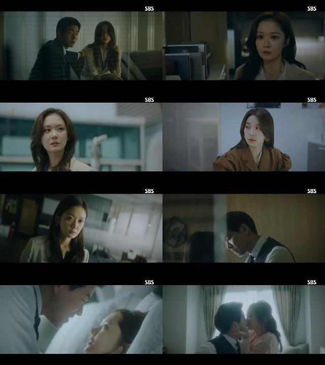 SBS 'VIP' 장나라, 이상윤-이청아 함께 있는 장면 목격···'충격 엔딩