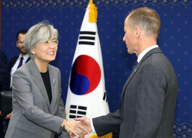 韩外长会见美国务助卿