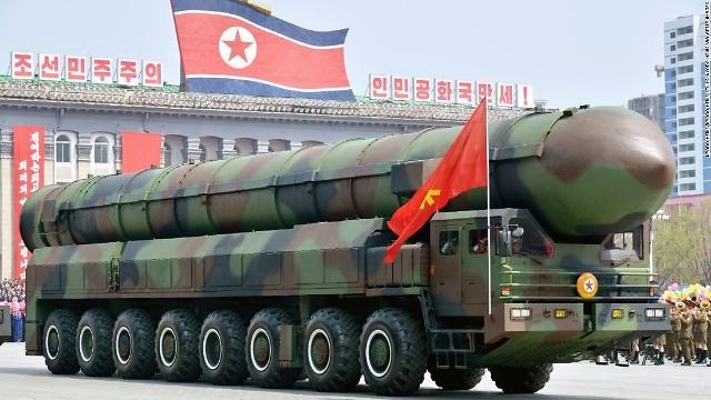 韩军情部门:朝鲜不具备洲际导弹移动发射能力