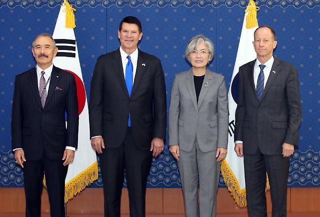 美国务院三人帮集结首尔 就防务分担费GSOMIA等施压