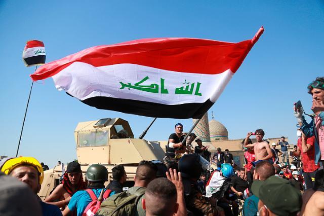 바그다드 반정부시위 격화…시내 교량서 유혈 충돌