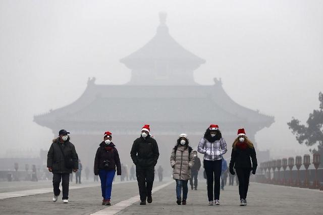 中, 올 겨울 숨막히는 회색도시 예고...환경보호보다 경기부양 우선