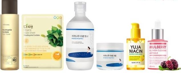 积雪草、鱼腥草等天然成分化妆品在韩热销 销售额同比激增