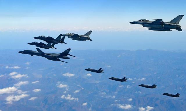"""美国防部:将按原定计划实施联合空演 朝鲜称""""已接近忍耐极限"""""""