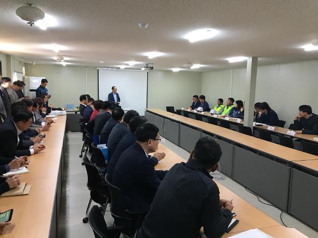 인천도시公,지역건설산업 활성화 위한 현장방문 일대일 구매상담