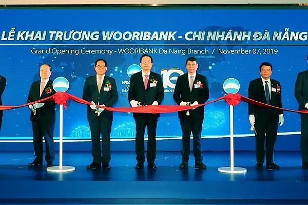 """우리은행, 베트남 다낭지점 열어... """"외국계 1등 은행 목표"""""""