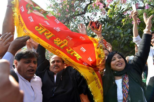 인도 대법원, 아요디아 사원 분쟁서 힌두교 손 들어줘