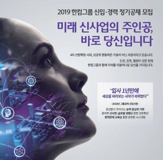 한글과컴퓨터, 2019년 신입·경력 정기공채