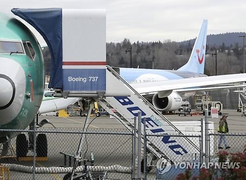 """보잉 """"737맥스 내년 1월께 운항 재개"""""""