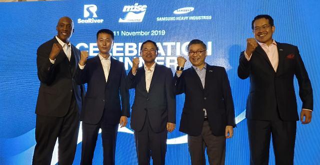 삼성중공업 노사 대표, 말레이시아 고객 방문… 영업일선 동행
