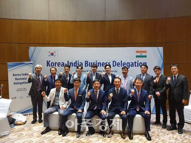 김해시 인도·중동 무역사절단, 뉴델리서 1881만달러 수출계약 상담