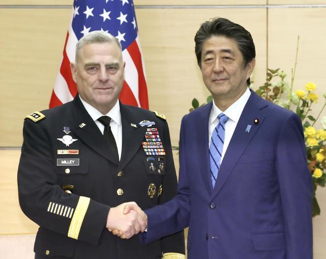 """美합참의장, 한·일 방문…""""보통 미국인, 한국·일본 파병 의문"""""""
