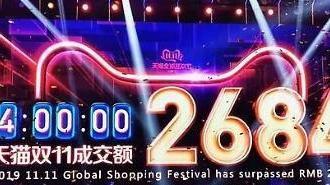 韩中购物节现冰火两重天 一个无人问津一个金盆满钵