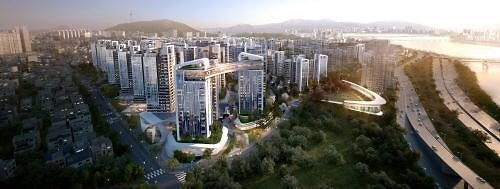 GS건설 '탄탄한 자금력'과 '자이'브랜드 파워 기반으로 한남3구역 시공권 도전