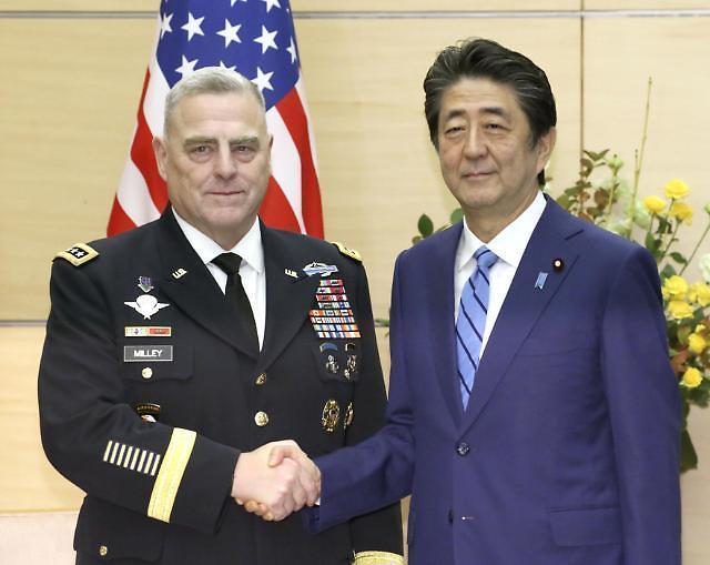 """美参谋长联席会议主席访问韩日……""""普通美国人,向韩国、日本派兵令人质疑"""""""