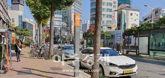 하남시, 택시승강장 표지판 폴사인 형태로 일괄교체