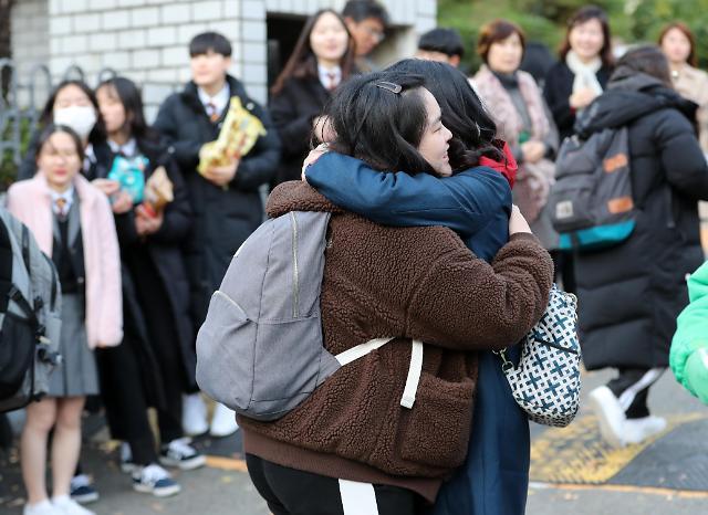 韩2020学年高考开考 考生人数仅55万人