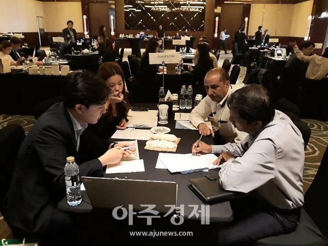 김해시 무역사절단, 인도·중동 진출 발판…121건 수출 상담