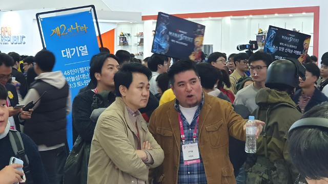 """[지스타 2019] 방준혁 의장 """"게임 개발 속도보다 '웰메이드'가 중요""""... 장르 융합도 강조"""