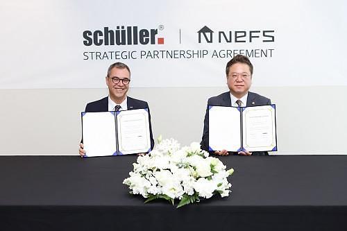 넵스, 독일 명품 주방가구 '슐러', 국내 독점 공급 계약 체결
