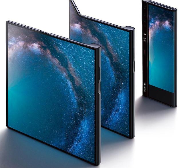 华为今首发5G折叠屏手机 叫板三星抢占中国市场