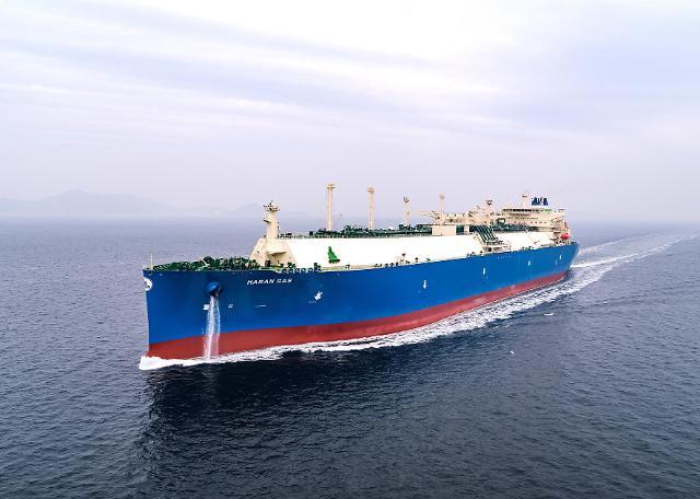 대우조선해양, 자체 개발 기술 '공기윤활시스템' 첫 적용 LNG운반선 인도