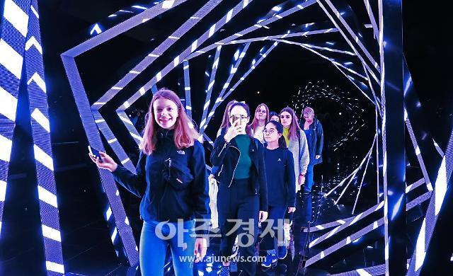경주엑스포, '찬란한 빛의 신라' 콘텐츠...관람객 감탄사