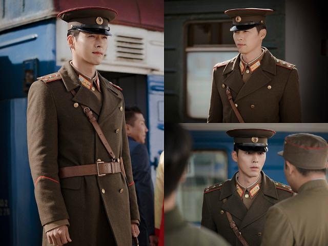 玄彬新剧剧照公开 变身帅气朝鲜军官