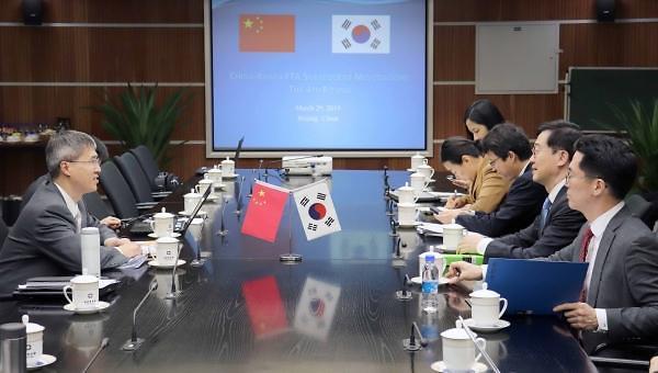 韩中自贸协定二阶段第六轮谈判明启动
