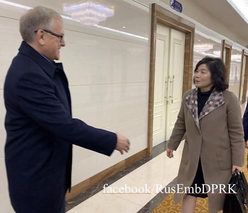 俄使馆:朝鲜外务省副相将访俄罗斯