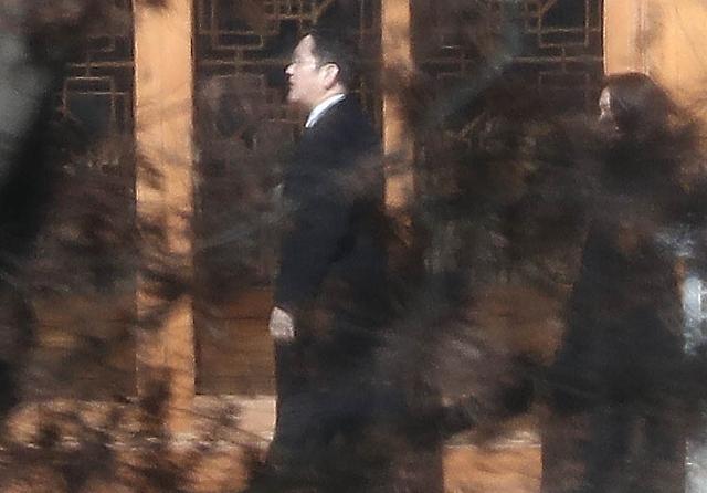 [포토] 이병철 추도식 참석한 이재용 부회장