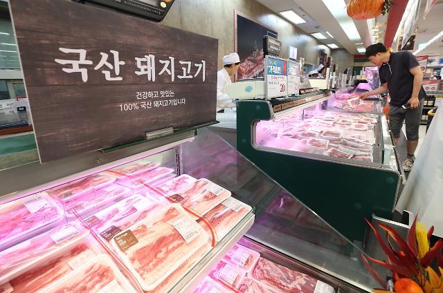 돼지열병에 돼지고기 가격 폭락…생산자물가 4개월째 하락