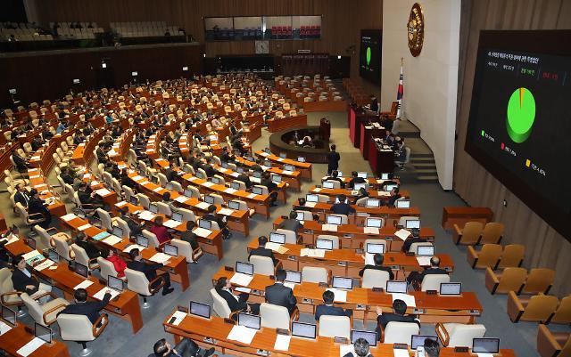 국회, 민생법안 88건 처리…데이터 3법 불발