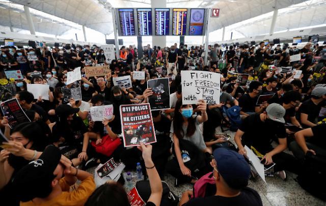 격화되는 홍콩 시위…올해 한국의 對홍콩 수출 33% 급감