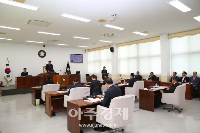 서천군의회, 11월 20일부터 제2차 정례회 열어..