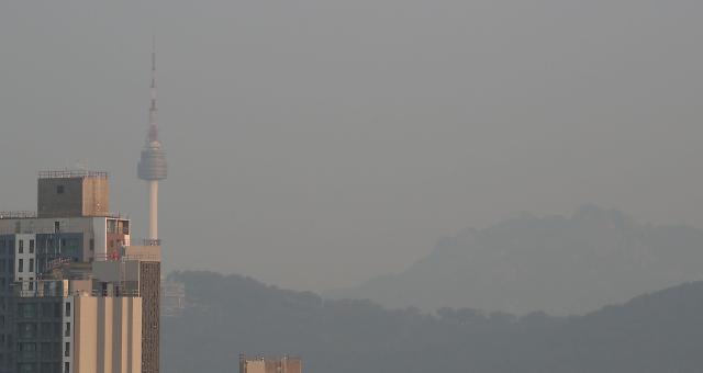 韩雾霾超半成受国内因素影响形成