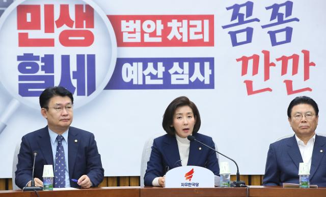인적쇄신 몰린 나경원…한국당 차기 원내대표 교체?