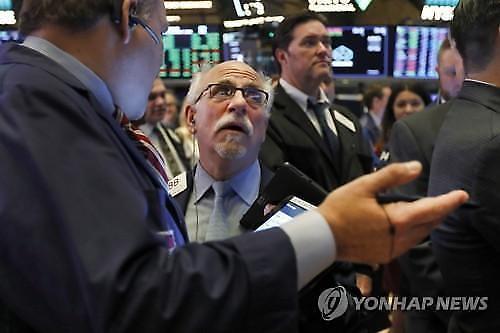 [纽约股市]美中年内第一阶段贸易协议未能达成令人担忧...道琼斯指数下降100P以上