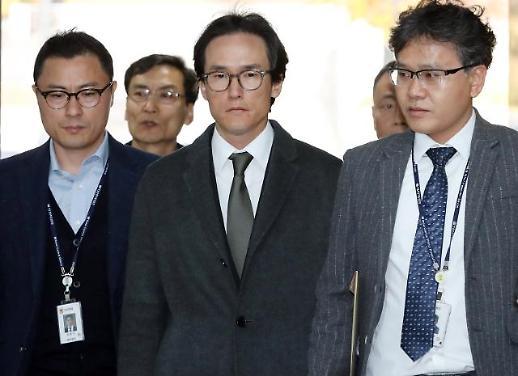 [포토] MB 사위 조현범 영장실질심사 출석