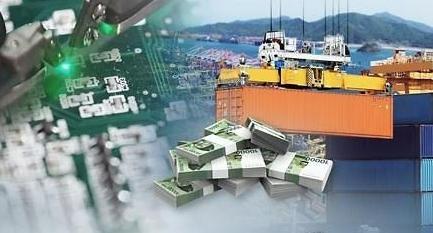 韩11月前二十天出口额同比减少9.6%