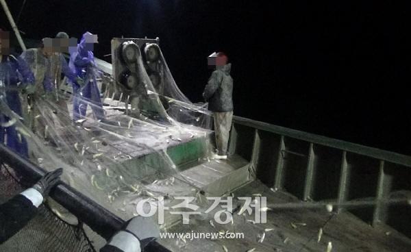 군산해경, 불법조업 중국어선 1척 검거